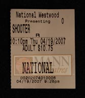 National Ticket Stub