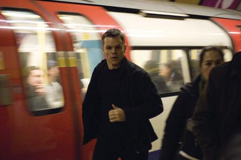Matt Damon in The Bourne Ultimatum