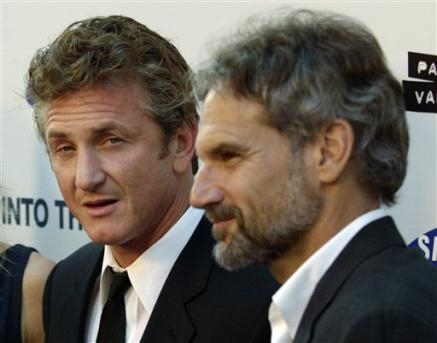Sean Penn and John Krakauer - Into the Wild (2007) (AP Photo/ChrisPizzello)