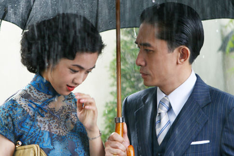 Wei Tang and Tony Leung in Ang Lee's Lust, Caution